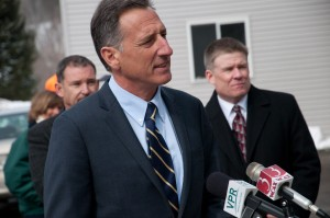 Gov. Peter Shumlin. File photo by Josh Larkin.