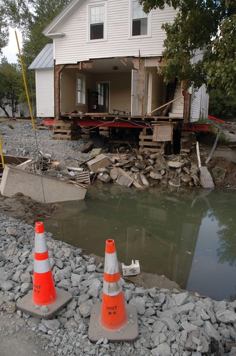 stately windsor county towns wracked by irene