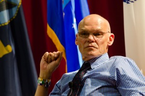 James Carville.