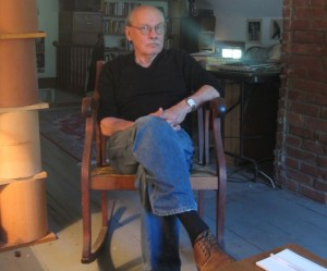 "Robert Buckeye, a retired Middlebury College curator and instructor, started Amandla Publishing (which in Zulu means ""power"") in 2001.Photo by Nancy Graff"