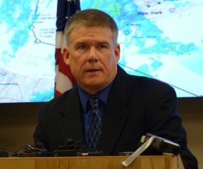 Keith Flynn, commissioner of the Department of Public Safety. Photo by Anne Galloway