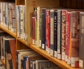 Technology competes with books for shrinking library dollars. Photo by Viola Gad/VTDigger