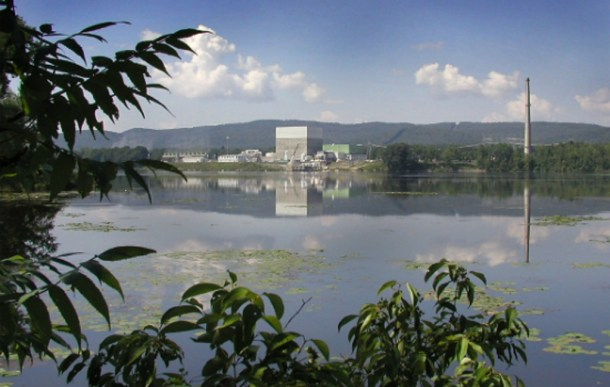 The Vermont Yankee nuclear plant in Vernon. Photo courtesy Vermont Business Magazine