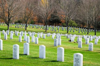 Veterans who wish to be interred at the Vermont Veterans Memorial Cemetery should contact the Vermont Office of Veterans Affairs in Montpelier. Photo by Nancy Graff