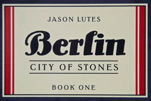 A cover section of Jason Lutes' first book in his Berlin trilogy.