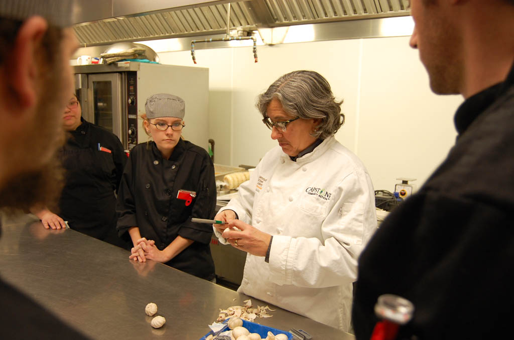 Chef Jamie Eisenberg Teaches Students At The Community Kitchen Academy In  Barre How To Cook And