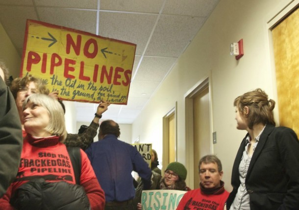 Pipeline opponents