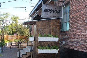 ArtsRiot, a community arts space and eatery in the South End. (Photo by Jess Wisloski.)