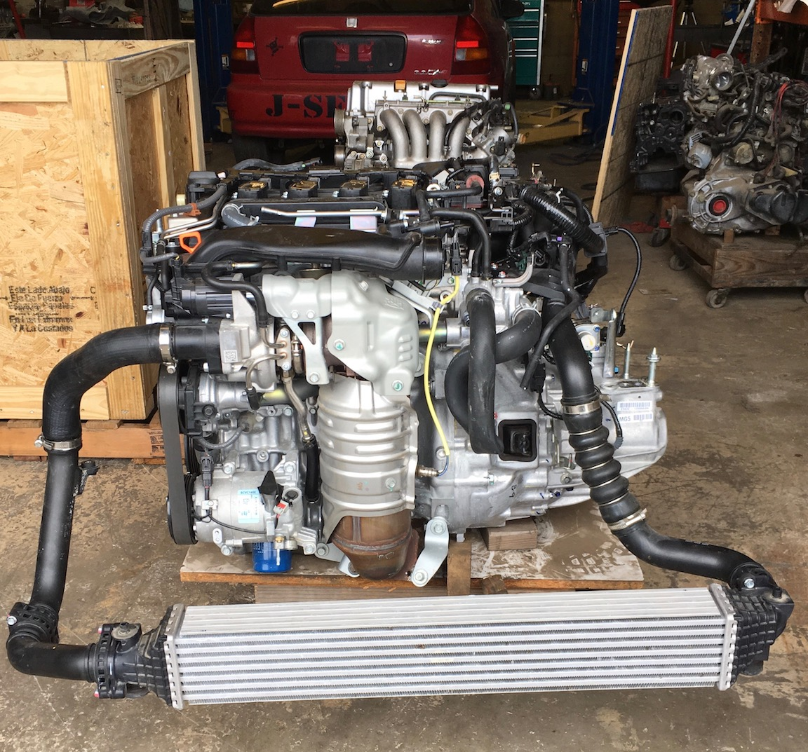 The New L15B7 Turbo from Honda  VTEC Academy