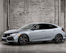 2017 Civic Hatchback Set to Kill