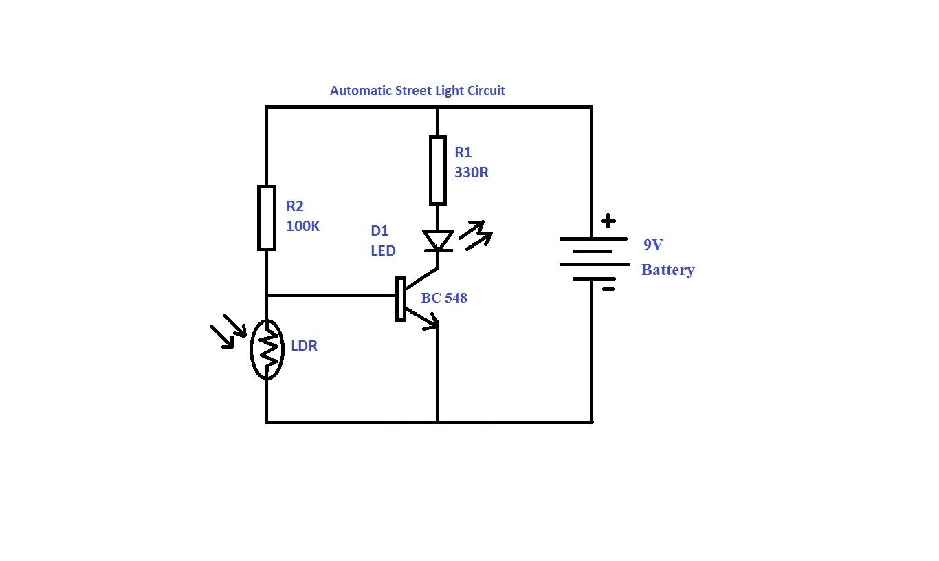 Automatic Street Light Vtek Electronics Amp Technologies