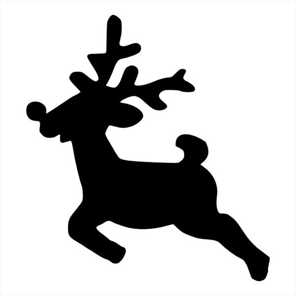 Kerst Kleurplaat Rendier новогодние трафареты на окна Обсуждение на Liveinternet