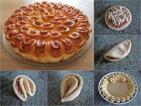 Как украсить пирог? Как украсить пирог тестом: красивые ...