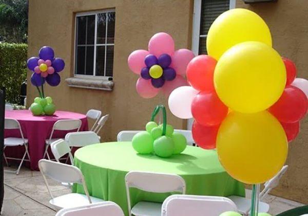 Как украсить стол на День Рождения: оформление и украшение ...