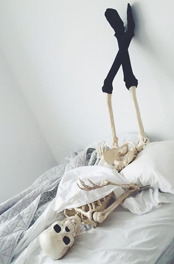 Фото Скелета, который покорил Инстаграм (Instagram)
