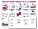 Calendar - Girls 13-14 web