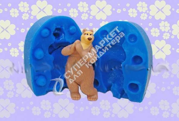 Silicone Mould 3D.