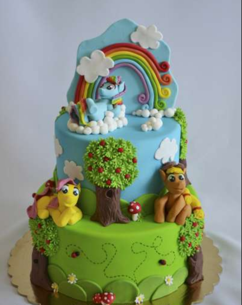 Cake May Little Pony from Mastica