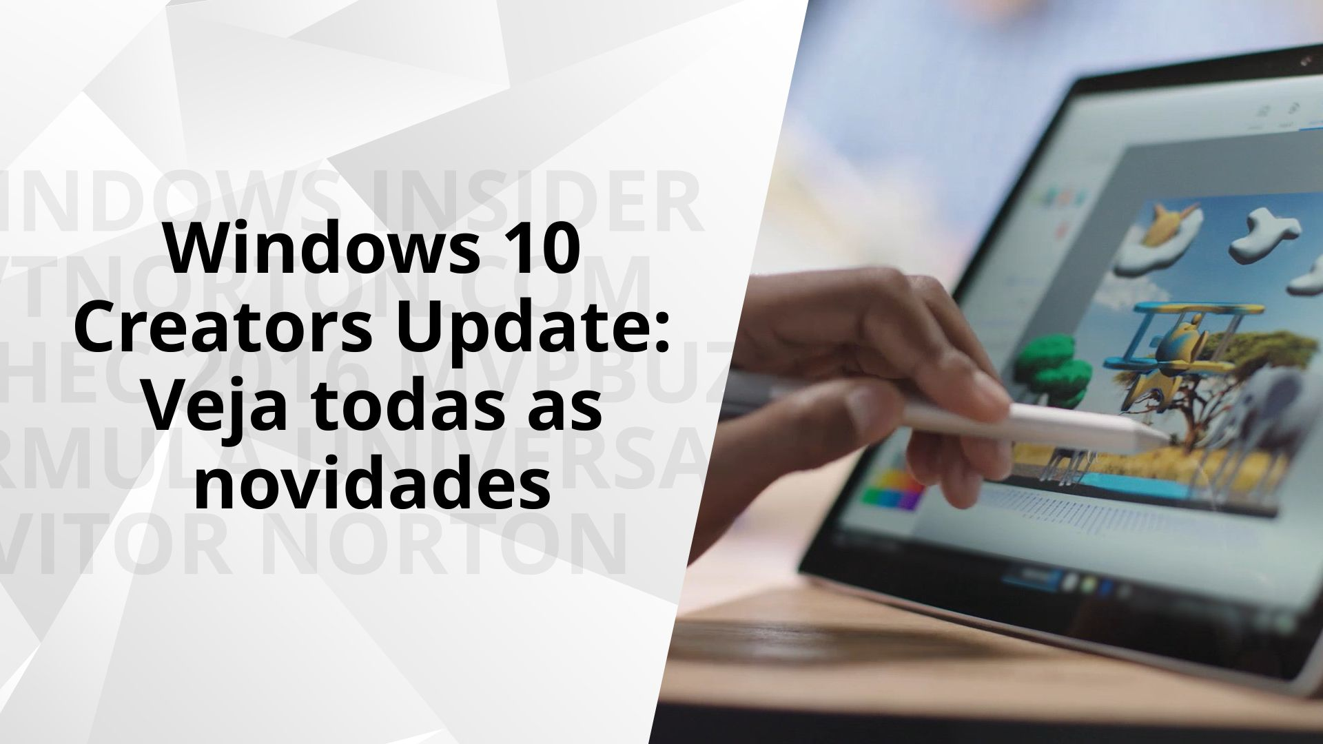 As novidades do Windows 10 Creators Update