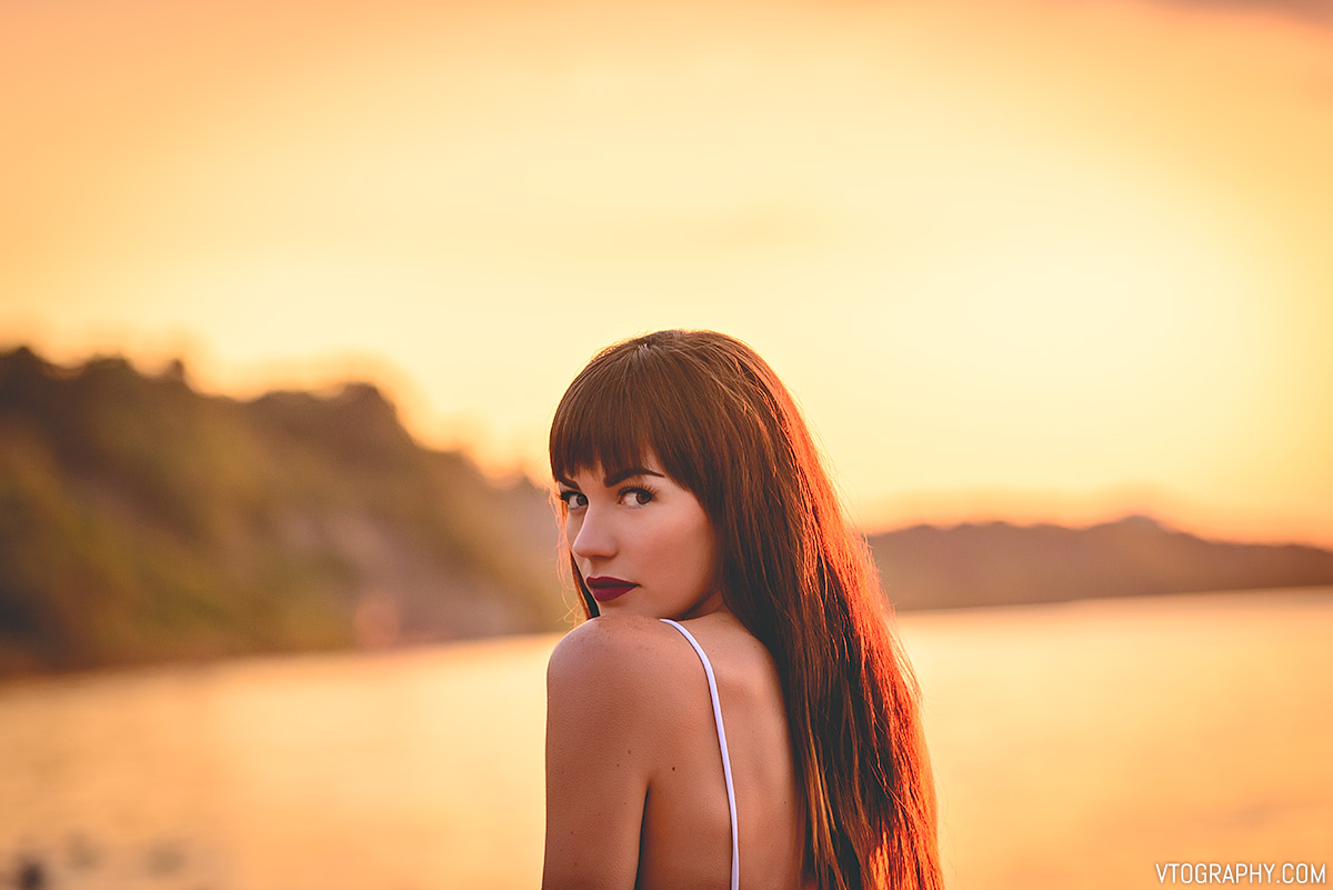 Ashley at sunrise