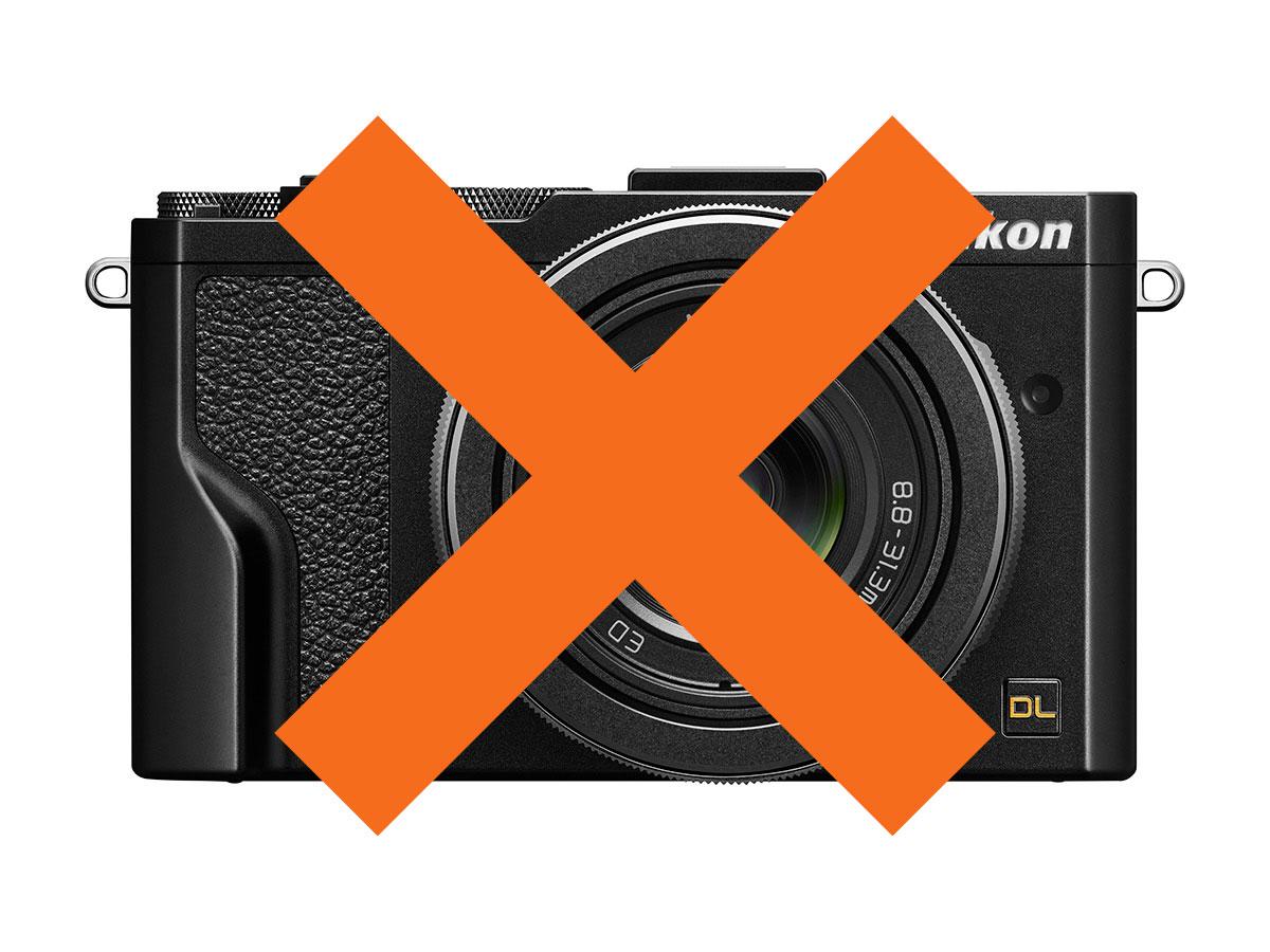 Nikon DL canceled