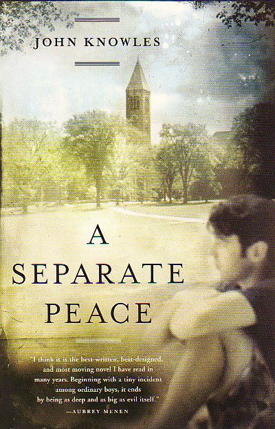 a seperate peace A separate peacejohn knowles1959introductionplot summarythemeshistorical overviewcritical overviewcriticismsources source for information on a separate peace: literary themes for students dictionary.