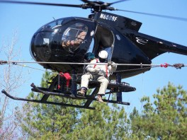 helicopter line inspection