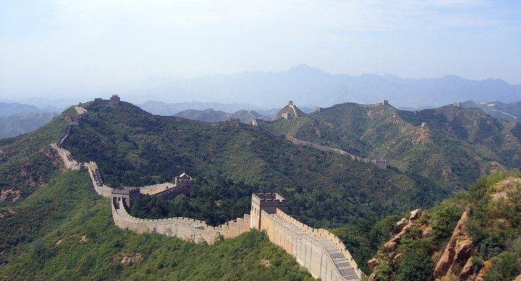 Kitajskaya Stena Iz Chego Sdelana Material Velikaya Kitajskaya Stena Great Wall Of China