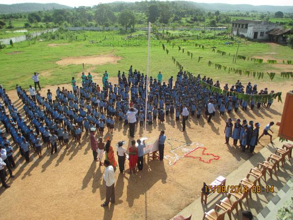 Republic Day Celebrations in Jeeyar Gurukulams