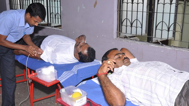 Blood Donation Camp in Coimbatore Vikasa Tarangini