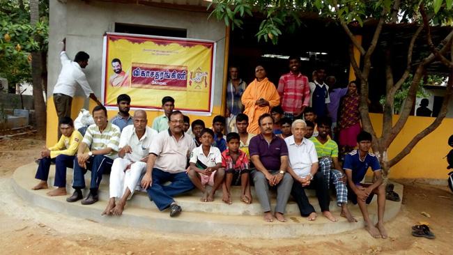 Vikasa Tarangini Members Visited an Orphanage Varasi Asram Near Coimbatore
