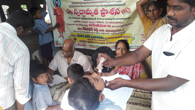 Build immunity with Swarnamrutha Prasana Ayurvedic