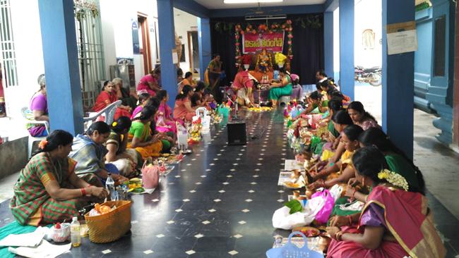 Varalakshmi Vratha Pooja in Kaikaluru