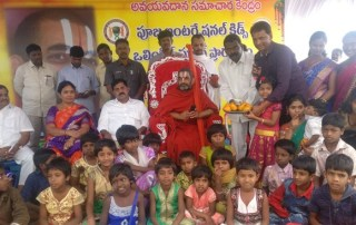 An orphan from Proddutur reaches Germany for Higher Studies HH Chinna Jeeyar Swamiji