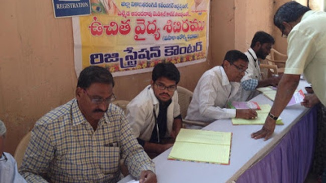 Kariminagar Vikasa Tarangini Conducted Medical Camp on Cancer Day healthcare