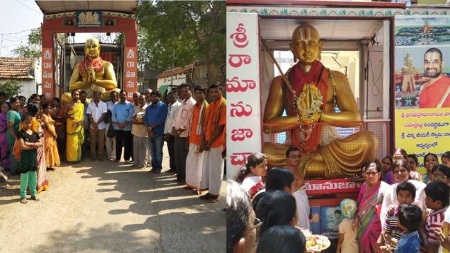 Sri Bhagavad Ramanuja Prachara Ratham