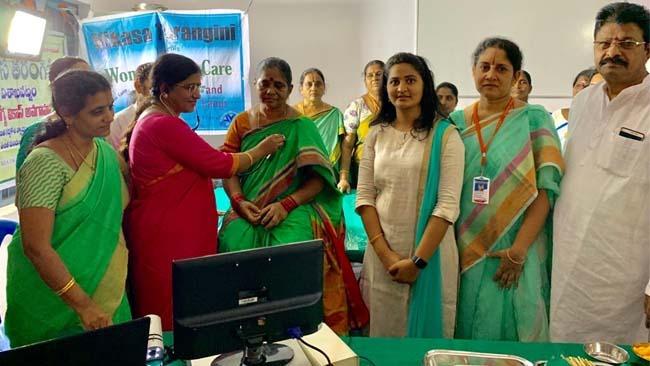 Mahila Arogya Vikas Conducted a Medical Camp at Parvada Visakhapatnam