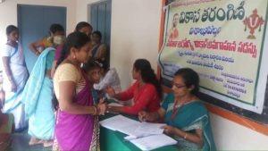Mahila Arogya Vikas Conducted a Medical Camp at Parvada Visakhapatnam2