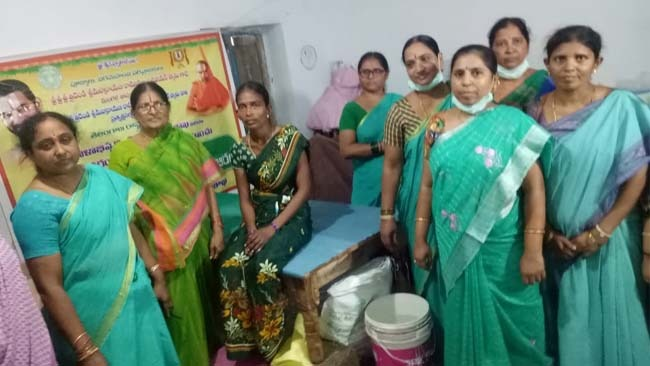 Mahila arogya Vikas Gudimalkapur conducted Medical Camp at Hasnadh Manchiriyalla