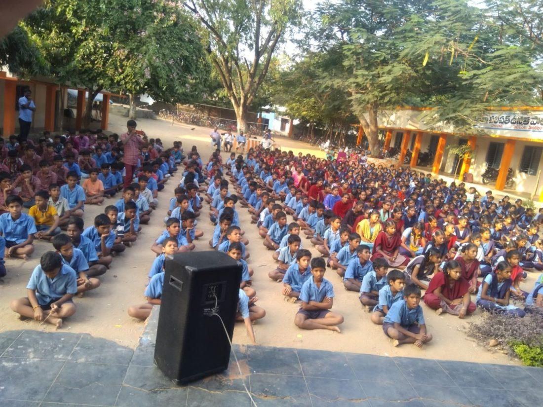 Prajna books distribution and program at paanchali govt high school 2