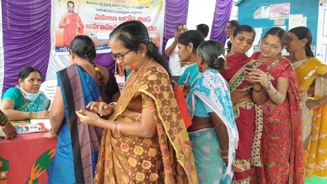 Mahilaarogya Vikas conducted Medical Camp at Sirisilla