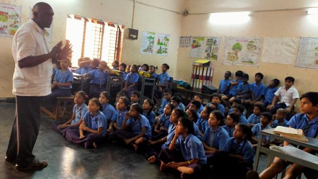 Prajna Program at Visakhapatnam MVDM primary school