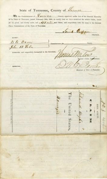 Elizabeth Hughes claim, 1868, page 4