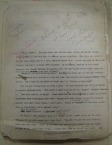 Manuscript corrections to Capitan typescript, Lucy Herndon Crockett Papers (Ms2011-032)