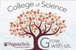 Postcard for the VT College of Science