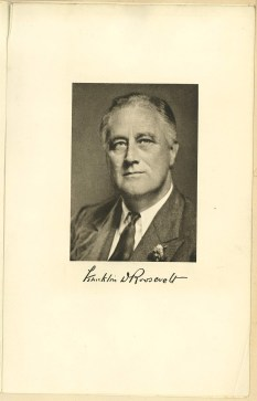 Invitation to Pres. Franklin D. Roosevelt's 1941 inauguration, p. 2
