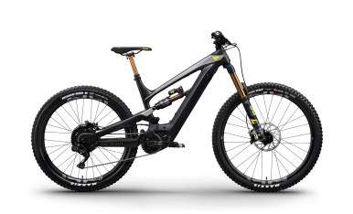 YT Decoy CF Pro Race - 6599€ - Fourche Fox 36 Float Factory Kashima Ebike 160mm - Amortisseur Fox X2 Factory Kashima - Roues E13 Race Carbon - Freins Sram Code RSC 200mm - Transmission Shimano XT Di2 11v
