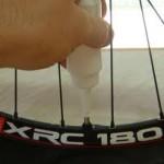 dégonfler un pneu de VTT