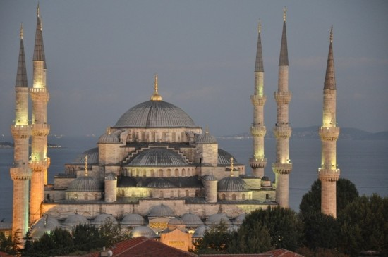 thánh đường blue mosque