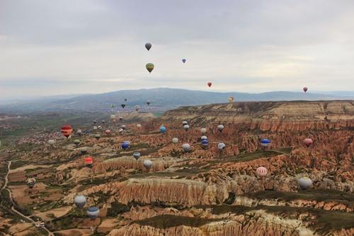 chi phí cho một tour khinh khí cầu cappadocia